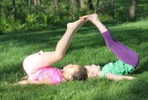 Partner Yoga Poses / Get strong and flexible together with yoga kids partner poses. These can be done anywhere as kids love partner poses as they work together to achieve a goal. There is nothing like the success of teamwork and they will want to practice these again and again! http://www.gogoyogakids.com/partner-yoga-kids-class/