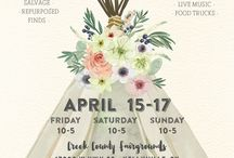 Vintage Market Days - Tulsa area / Vintage Market Days® - an upscale Vintage & Vintage inspired, indoor/outdoor flea market style event! We would love for you to grab your girlfriends & join us the weekend of April 15-17 at the Creek County Fairgrounds. We promise you a weekend of slowing down, sweet tea, some really special music & the very best in Vintage shopping! We would love for you to JOIN our event at: https://www.facebook.com/events/447735562078817/ *We absolutely love bringing the Vintage experience to you®!