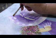 Videos de pintura em tecido Julia Passerani