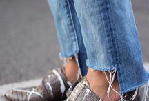 jeans hem fashion
