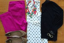 Outfits color rosa