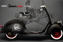 hot rod vespa