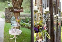 outdoor wedding ideas / by Courtney Riessen