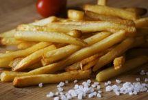 cartofi prăjiți fără ulei