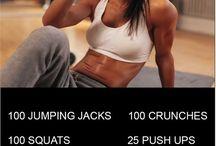 Workout/Fitness inspiration