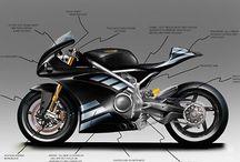 Szkice Motocykle