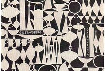 Modernist ceramics design inspiration / Ideas related to ceramics collection designs and screen prints of the era