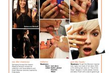 2014 S/S New York Fashion Week Beauty Looks / How to get the coolest makeup, nail and hair looks straight from the New York Fashion Week runways / by Palacinka Beauty Blog