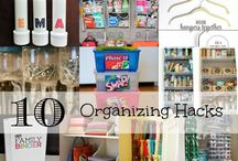 Organizing Hacks for Families / Is your house being taken over by toys and baby gear? Kick clutter to the curb with these tips and tricks to help keep your family organized!  / by What To Expect