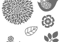 Stampin'UP Betsy's blossoms