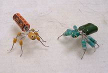 Recycled / Re-using discarded items in a new way. / by Shawna Troyer