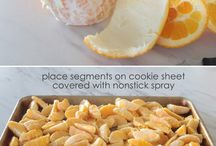 how to freeze oranges for smoothies