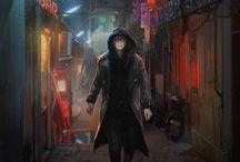 NPCs Shadowrun/Cyberpunk / Inspirations for modern NPCs for RPG sessions.
