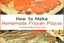 Homemade freezer meals / Food