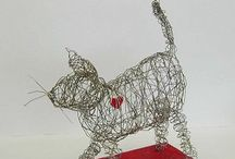 Wire sculpting / by Annebelle Froyen