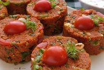 salata ve kısır çeşitleri