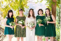 Emerald Green Wedding / Inspiration Board #05 - Emerald_Green_Wedding