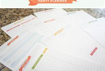 Planner / Printable / Checklist / Tips