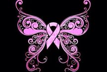 Pink Ribbon Tattoo Ideas / Coming round whilst in recovery, I was 'in a field of butterflies' ... this could be my first ever tattoo ;)