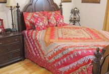 Sari Bedding Sets / Exclusive handmade bohemian bedding and duvet sets