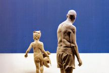 Peter Demetz / Italian artist Peter Demetz brings ordinary wood to life with hand-carved figures
