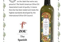 Zoe Marasca Gourmet / Our new Marasca gourmet bottle has something special on the label that we're very proud of. The North American Olive Oil Association's seal of quality. It means that Zoe has been tested and meets the highest standards developed by the International Olive Oil Council.