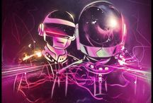 Artworks Inspired by Daft Punk / by Jéssica Maia