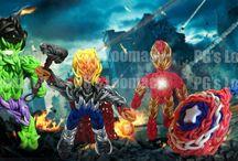The Avengers / Rainbow Loom Avengers Serie