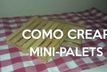 Tutorial para Crear Mini-Palets