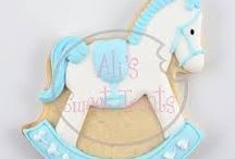 rocking horses baby party