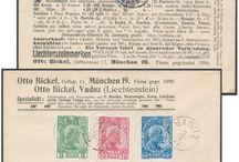 Stamps, Liechtenstein