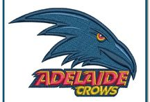 Australian Football League Team Logo Machine Embroidery Designs
