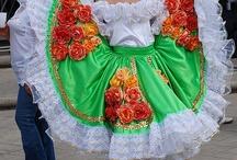 trajes tipicos / by Yolanda Colec