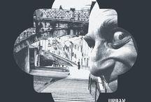 URBAN CREACTIVITY / grafica design logo branding composite advertising puzzle