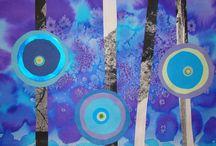 arts visuels sur les ronds