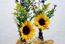 Yellow Wedding Ideas / Sunshine colour scheme for weddings