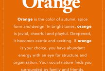 Orange-spiration / wedding and party inspiration in tones of orange, autumn, tangerine, cantalope, harvest, pumpkin, persimmon