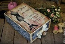 Beutiful things / decoupage