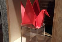 Wanted Design 2016 / Check out Ultrafabrics cool upcycled display stand at Wanted Design in NYC.