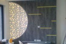 The artist Ravendra Manjhi / interior painting dijaiors
