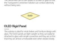 LG OLED light Infographic