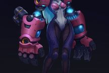 киборги и девушки роботы