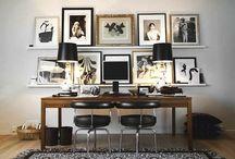 DESPACHOS CON MUCHA PERSONALIDAD / Para poder montar un despacho en casa necesitamos ideas, inspiración para poder ubicarlo. Y es que cada vez somos más los que además de trabajar fuera de casa, necesitamos añadir alguna que otra hora extra de trabajo en casa, pero tambien por diversión, a través de redes sociales, blogs, o simplemente.