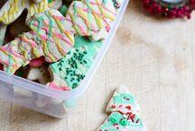 Vegan cookies and slices