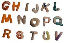 plastic typografie
