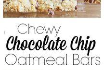 oatmeal & chocolate bars