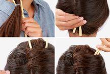 Hiukset / Hair / Kampauksia
