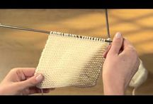 Stitch Library Video Tutorials / Learn the stitches from The Art of Knitting Magazine!