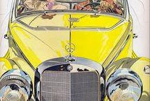 I'm in a Vintage Mercedes kind of mood...