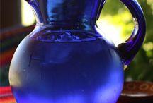 Cobalt / ♥ blue glass  / by Sara Kovach